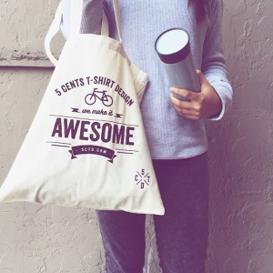 promo bag, custom design